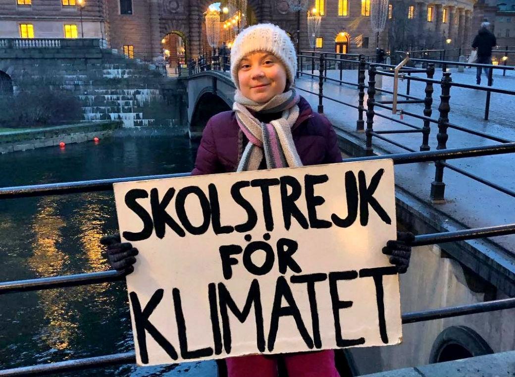 Forrás: Greta Thunberg Facebook oldala